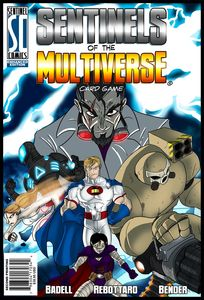 Sentinels of the MVerse Cover Art