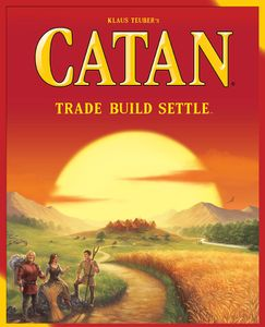 Settlers of Catan Cover Art