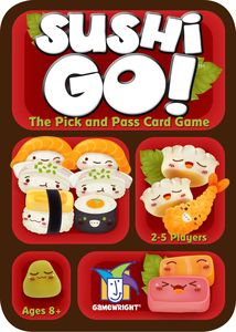 Sushi Go Cover Art