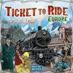 Ticket to Ride - Europe Cover Art