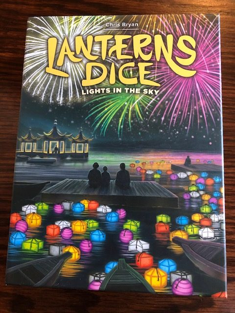 Game Spotlight – Lanterns Dice: Lights in the Sky